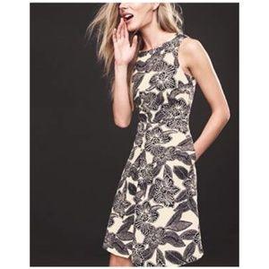 J. Crew • sleeveless Polynesian floral dress